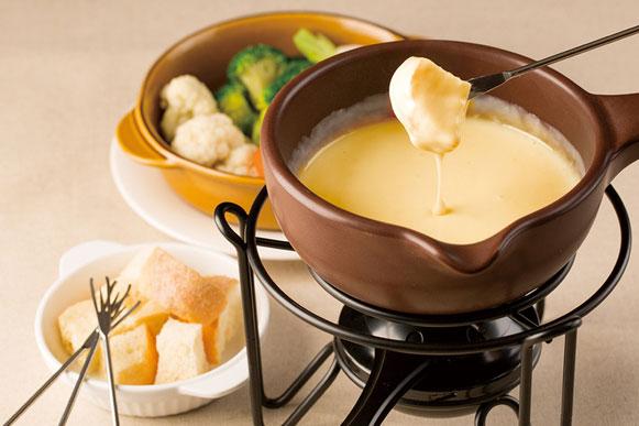 チーズフォンデュ ¥980(税抜)