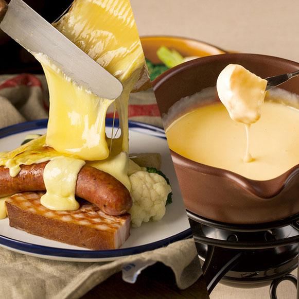 とろっとろラクレット&本格チーズフォンデュのWとろけるパーティー☆スパークリングやサングリア含む2時間飲み放題 5500円(税抜)