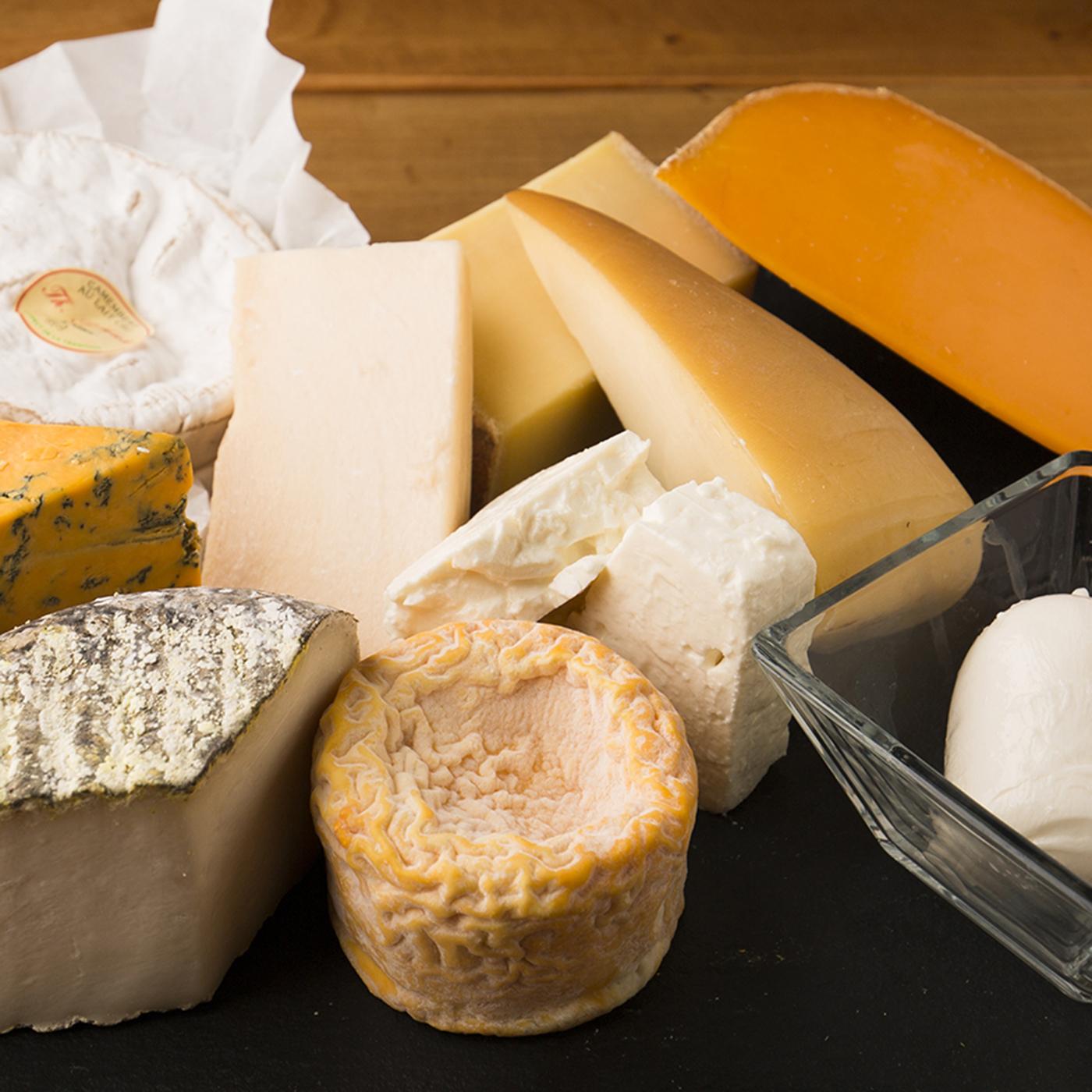 チーズプロフェッショナル取得 世界各国から厳選した今月のシェフおすすめのチーズ